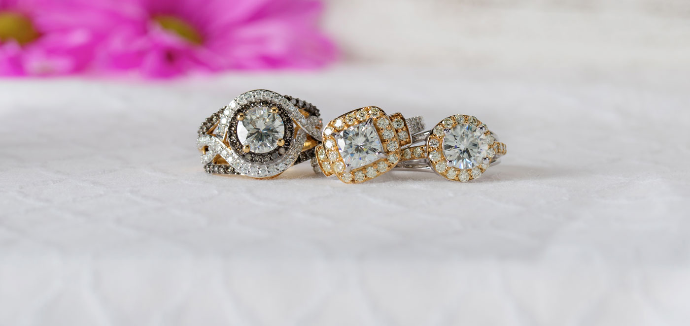 Moissanite Fire: Unforgettable Brilliance. Unquenchable Fire. Timeless Beauty.
